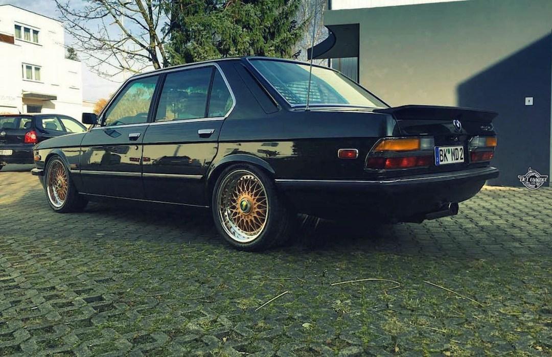 BMW 525E E28 BBS - Basic Static ! 21