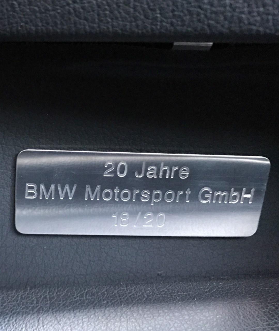 BMW M5 20 Jahre - La plus rare, la plus désirable ?! 77