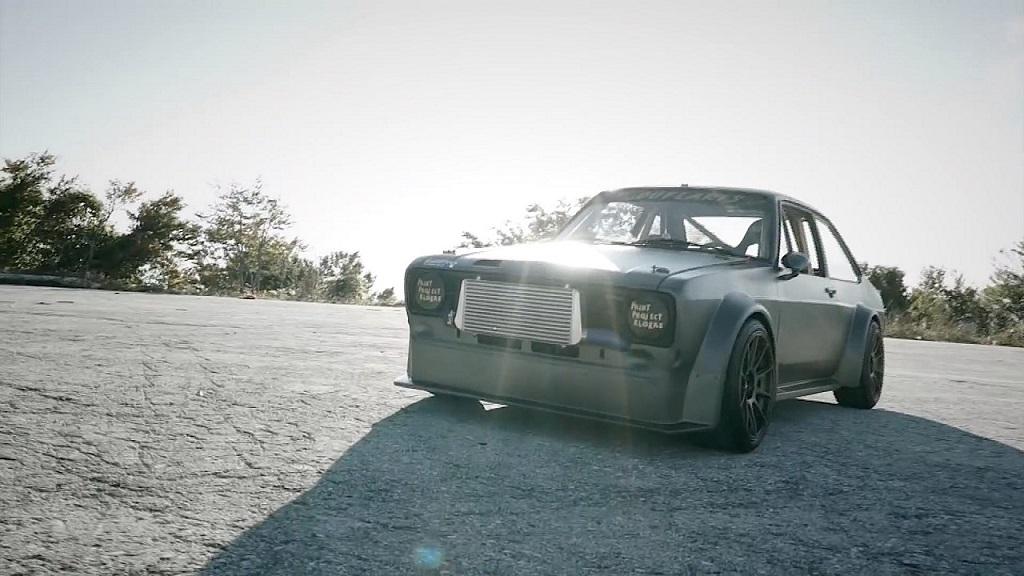 """Hillclimb Monsters - Ford Escort Mk2 """"Insérez ici vos clichés sur les Grecs"""" 17"""