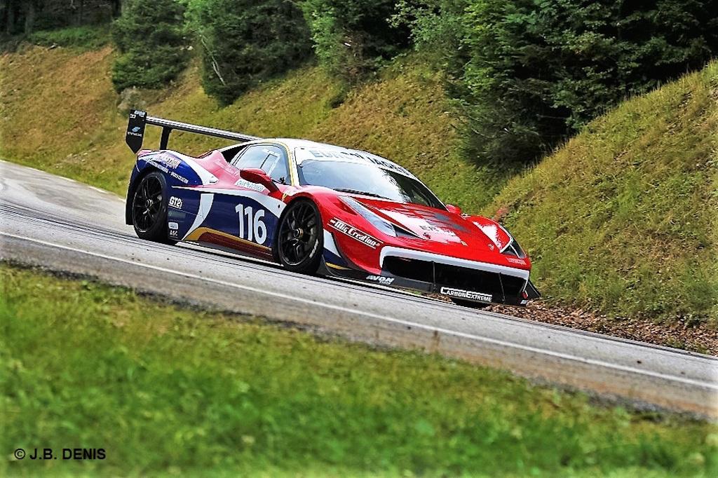 HillClimb Monster : Ferrari 458 Challenge Evo en dolby ! 11