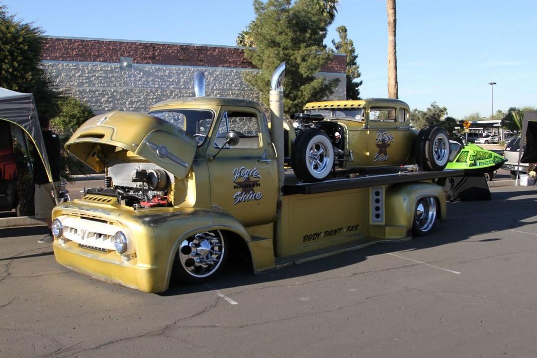 """""""Hogie Shine"""" - Rat Rod + Rat Truck = La classe à Dallas ! 9"""