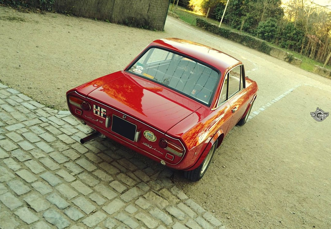 Lancia Fulvia HF Fanalone - Belissima leggenda ! 109