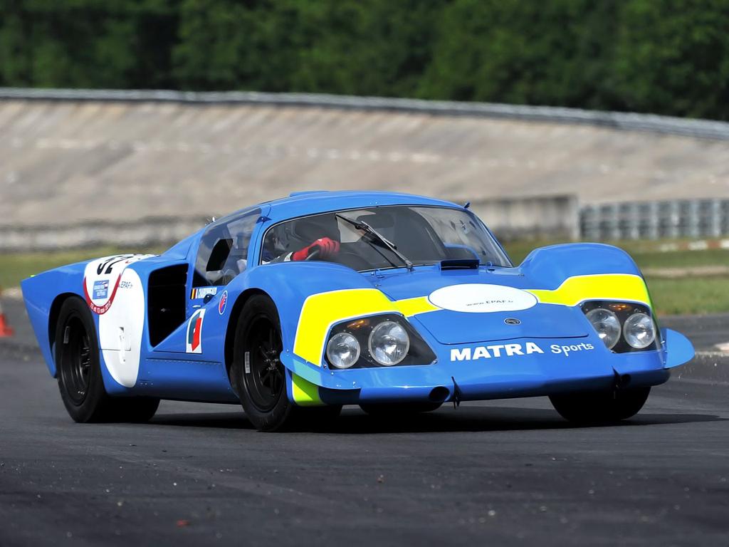 Engine sound : Matra MS de la 630 à la 670... Un V12 dans les Hunaudières ! 81