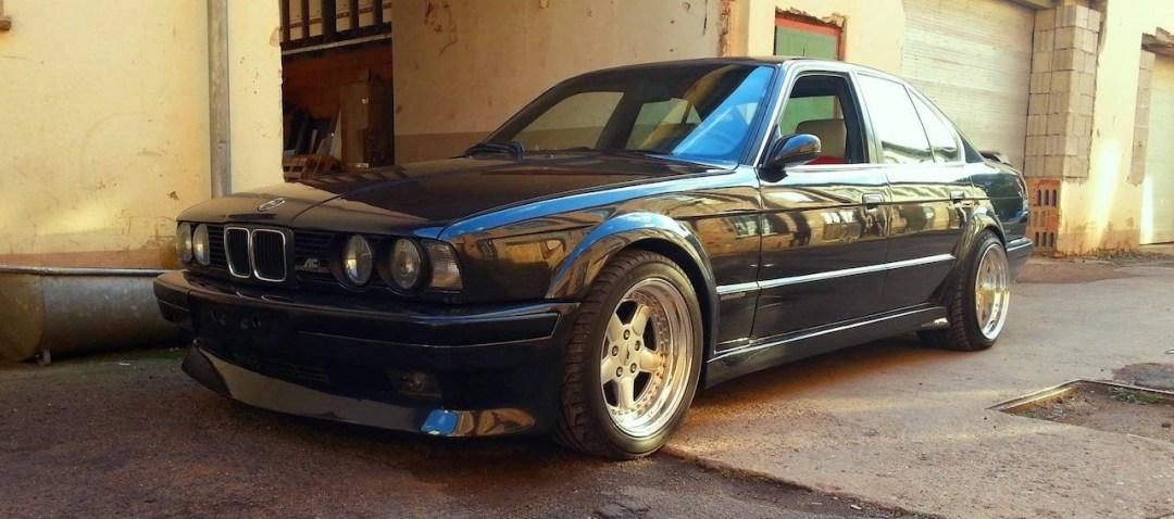 BMW E34 AC Schnitzer S5 Silhouette... Tuning de jackos ! 18