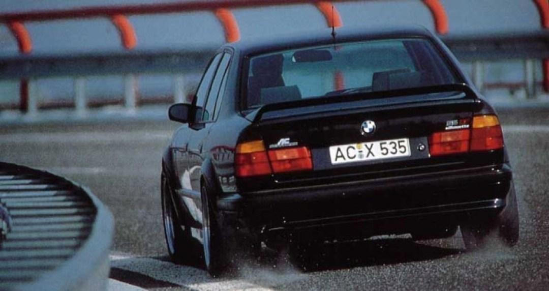 BMW E34 AC Schnitzer S5 Silhouette... Tuning de jackos ! 13