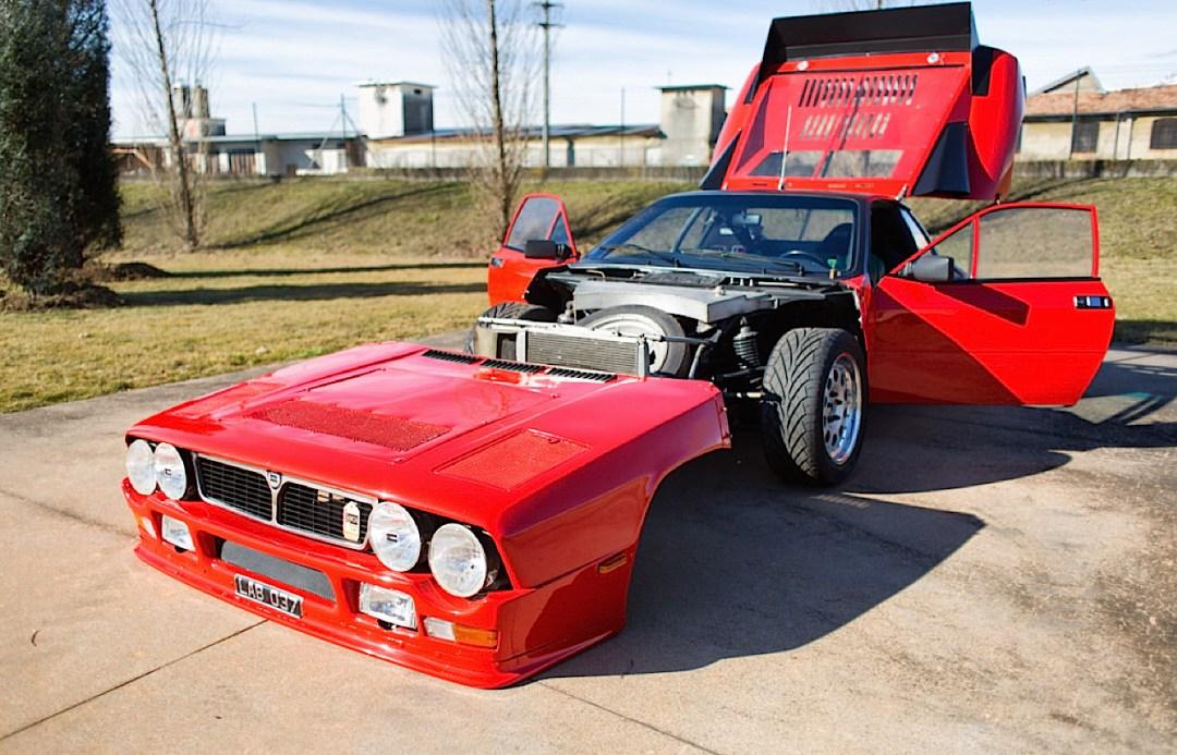 Lancia 037 - Markku Alen déchainé en test au 1000 Lacs... 23