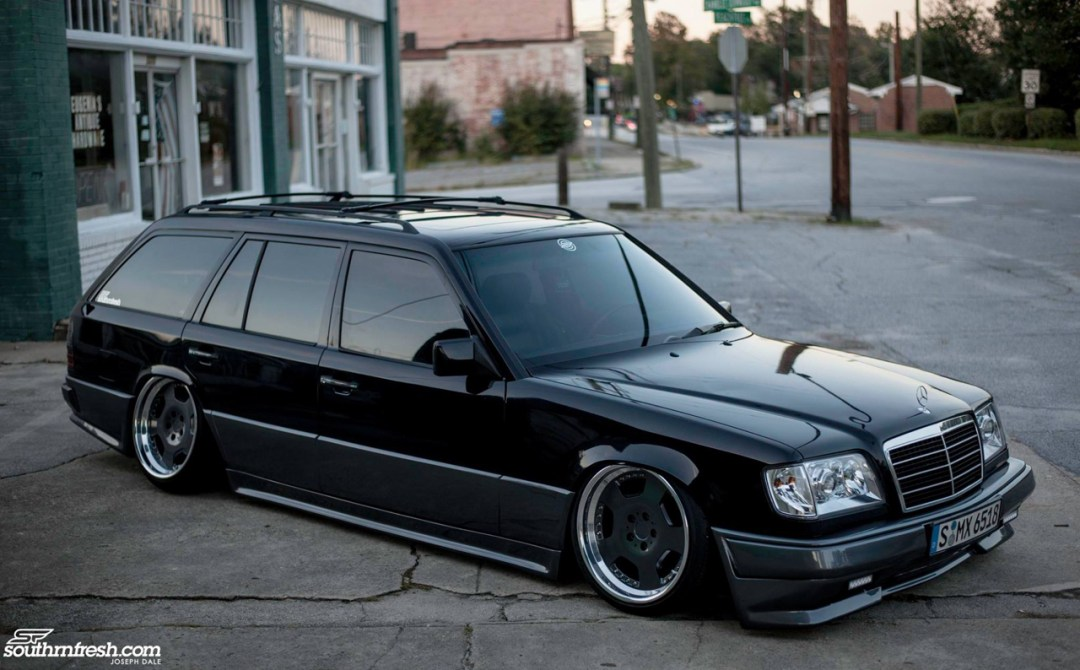 Bagged Mercedes 300TE-24 : Air-moire normande ! 18