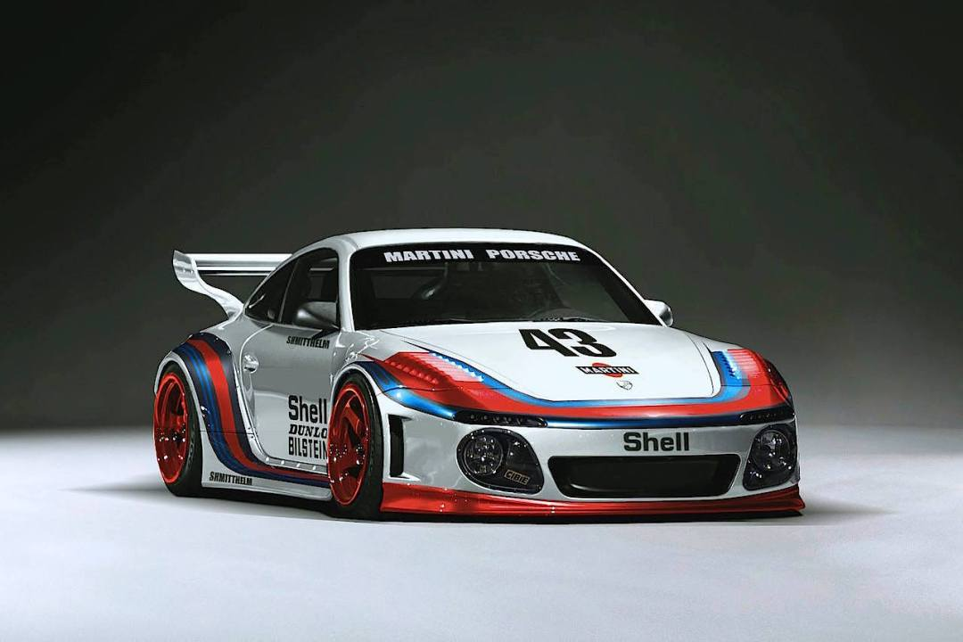 Porsche 997 Old & New... Le retour du flat nose ! 27