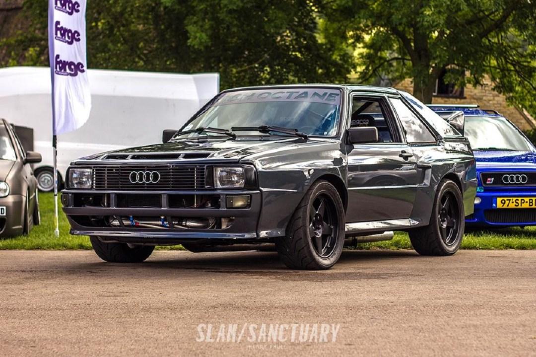 Audi Quattro SWB 1000+ - Violent ! 15