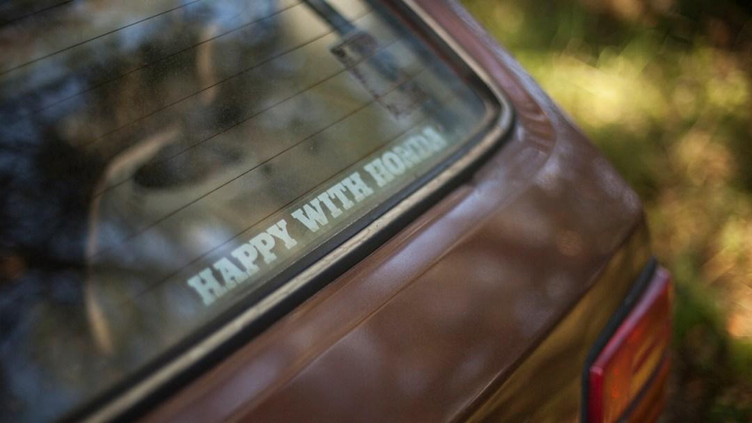"""Slammed Civic : """"Happy with Honda"""" 28"""