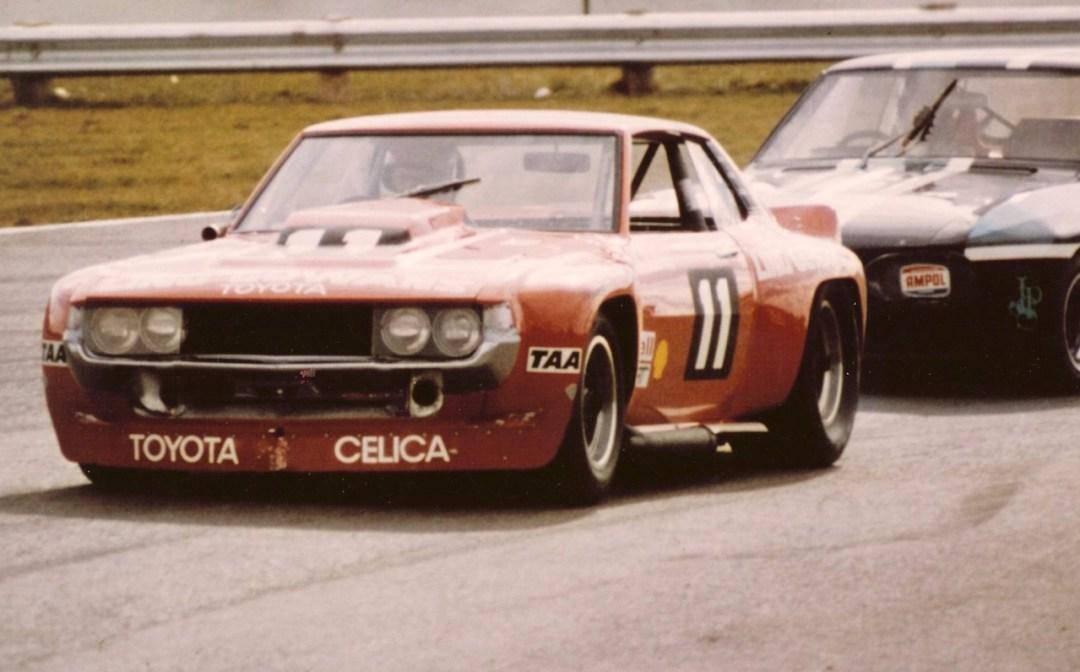 Bruce Gowans Toyota Celica - Avec un V8 Repco 28