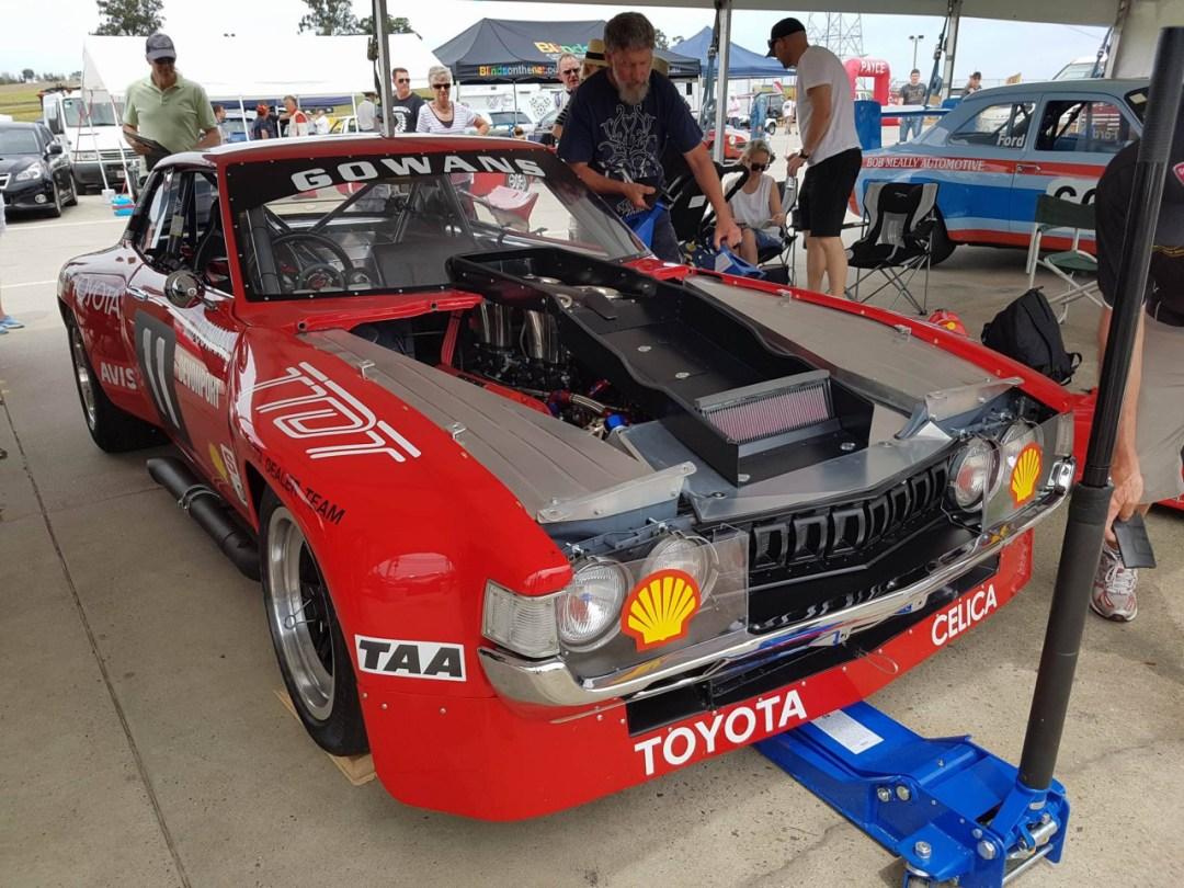 Bruce Gowans Toyota Celica - Avec un V8 Repco 29