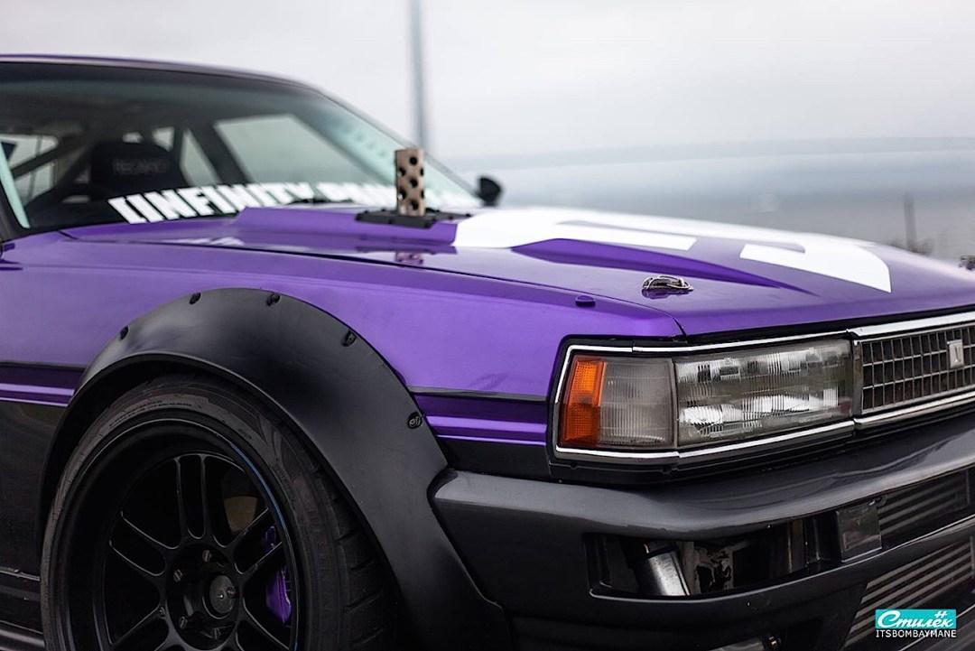 "Toyota Cresta swap 2JZ... ""Purple Rocket"" 25"