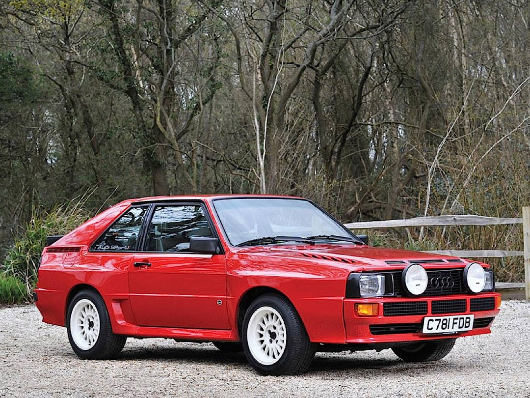 Audi Quattro Sport - Châssis court, turbo et muscu ! 74