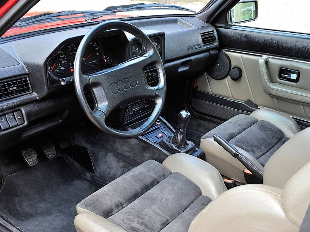Audi Quattro Sport - Châssis court, turbo et muscu ! 80