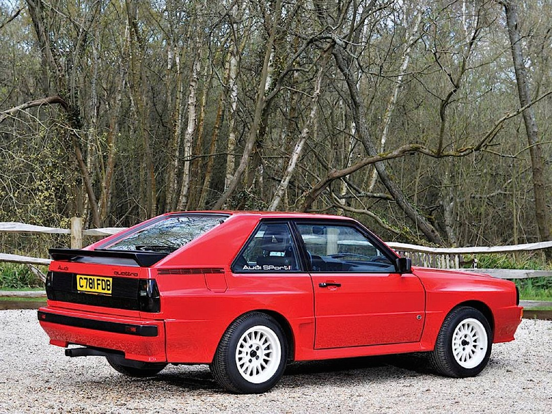 Audi Quattro Sport - Châssis court, turbo et muscu ! 84