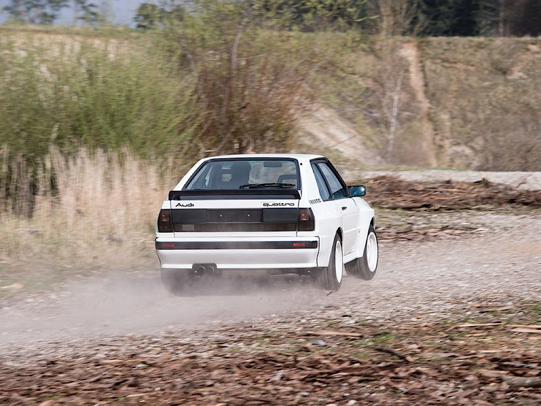 Audi Quattro Sport - Châssis court, turbo et muscu ! 94