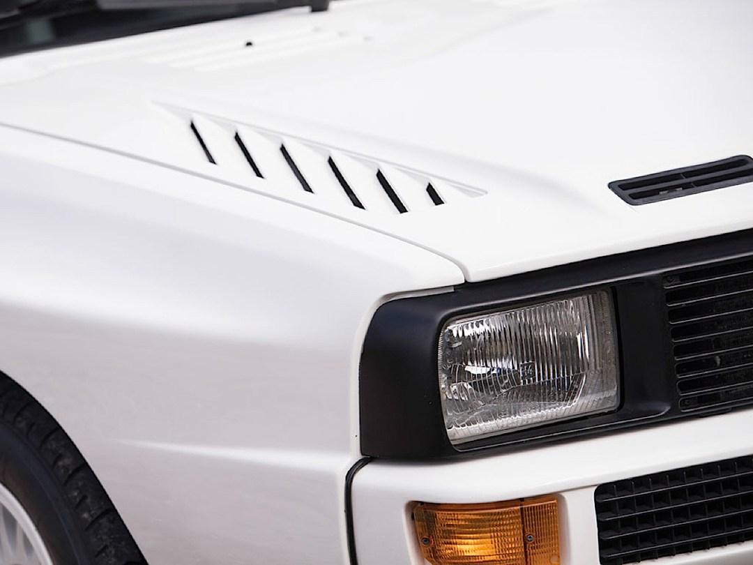 Audi Quattro Sport - Châssis court, turbo et muscu ! 90