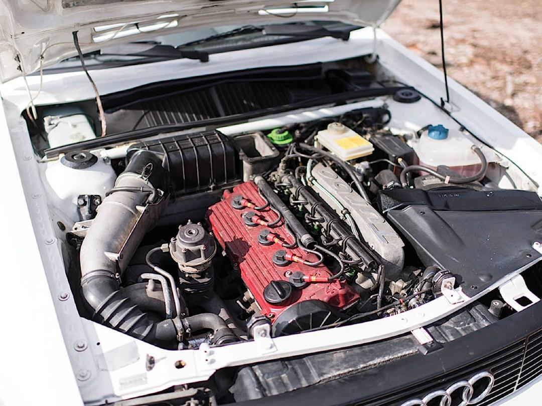Audi Quattro Sport - Châssis court, turbo et muscu ! 85