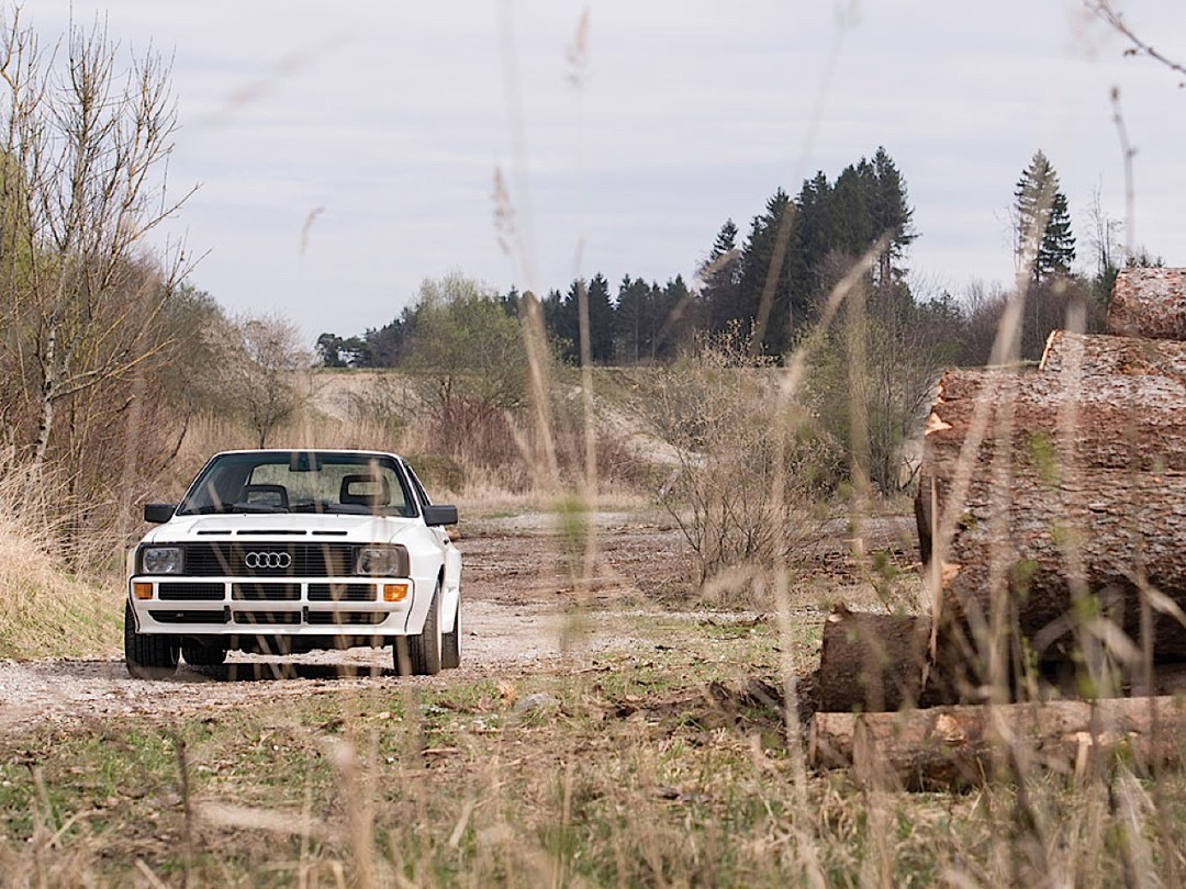 Audi Quattro Sport - Châssis court, turbo et muscu ! 81