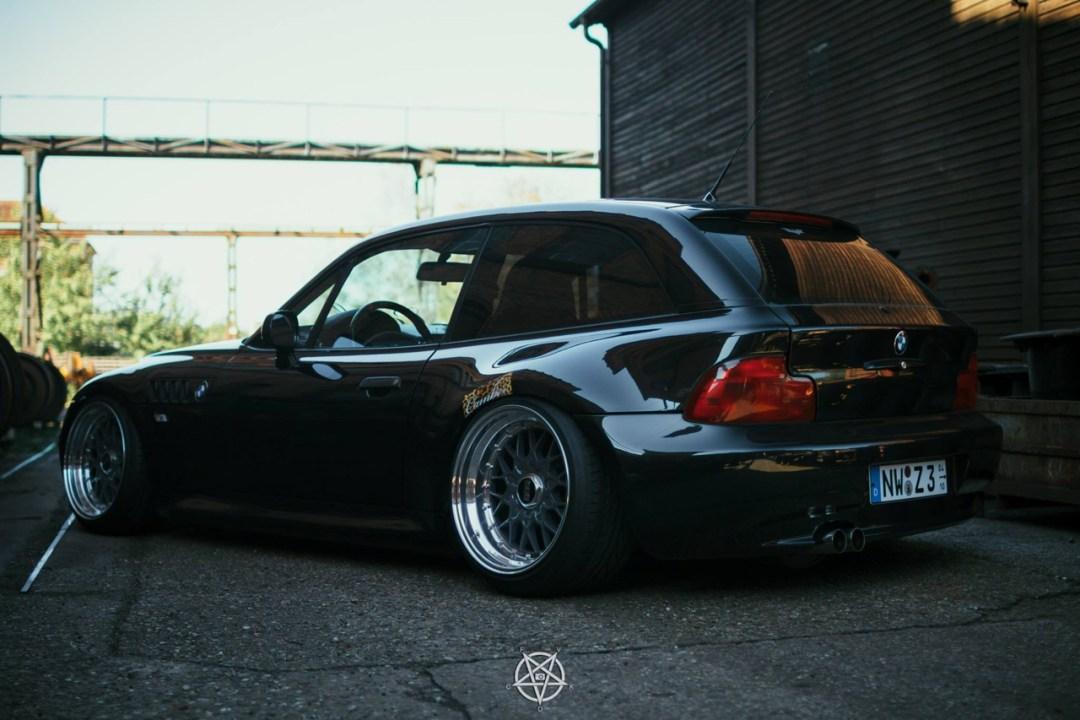 Slammed BMW Z3M coupé... Static & BBS 19