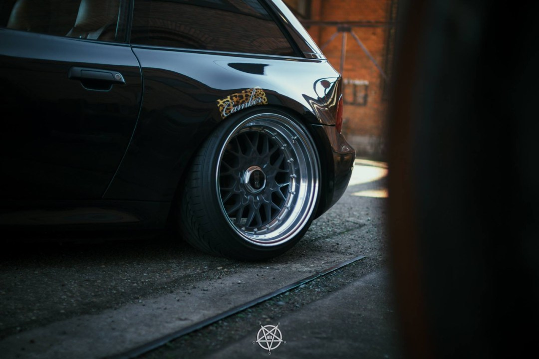 Slammed BMW Z3M coupé... Static & BBS 20