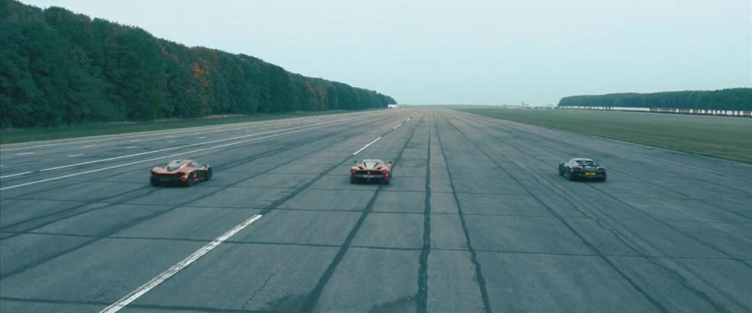 McLaren P1 vs LaFerrari vs Porsche 918 : Le Drag Race encore plus ultime ! 8