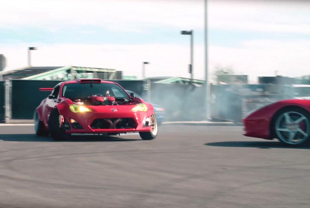 Toy' GT86 Swap Ferrari 458 - 86+458 = 4586 ! 18