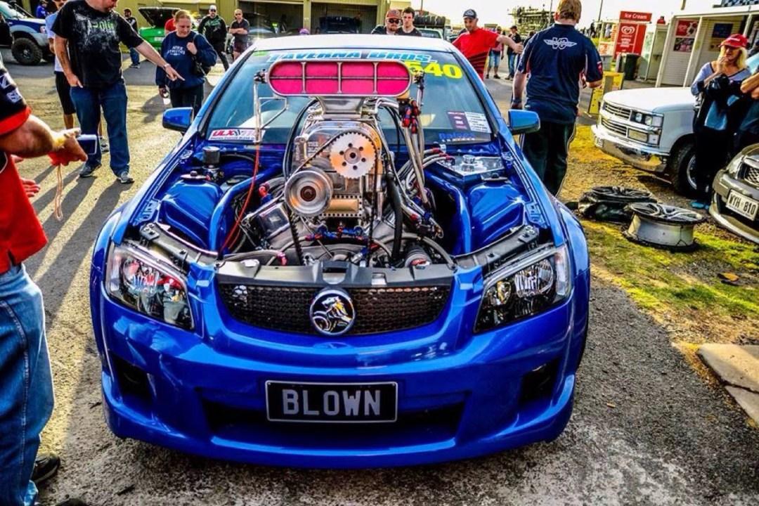 Holden Ute Blown... Quand il y a trop de puissance ! 13