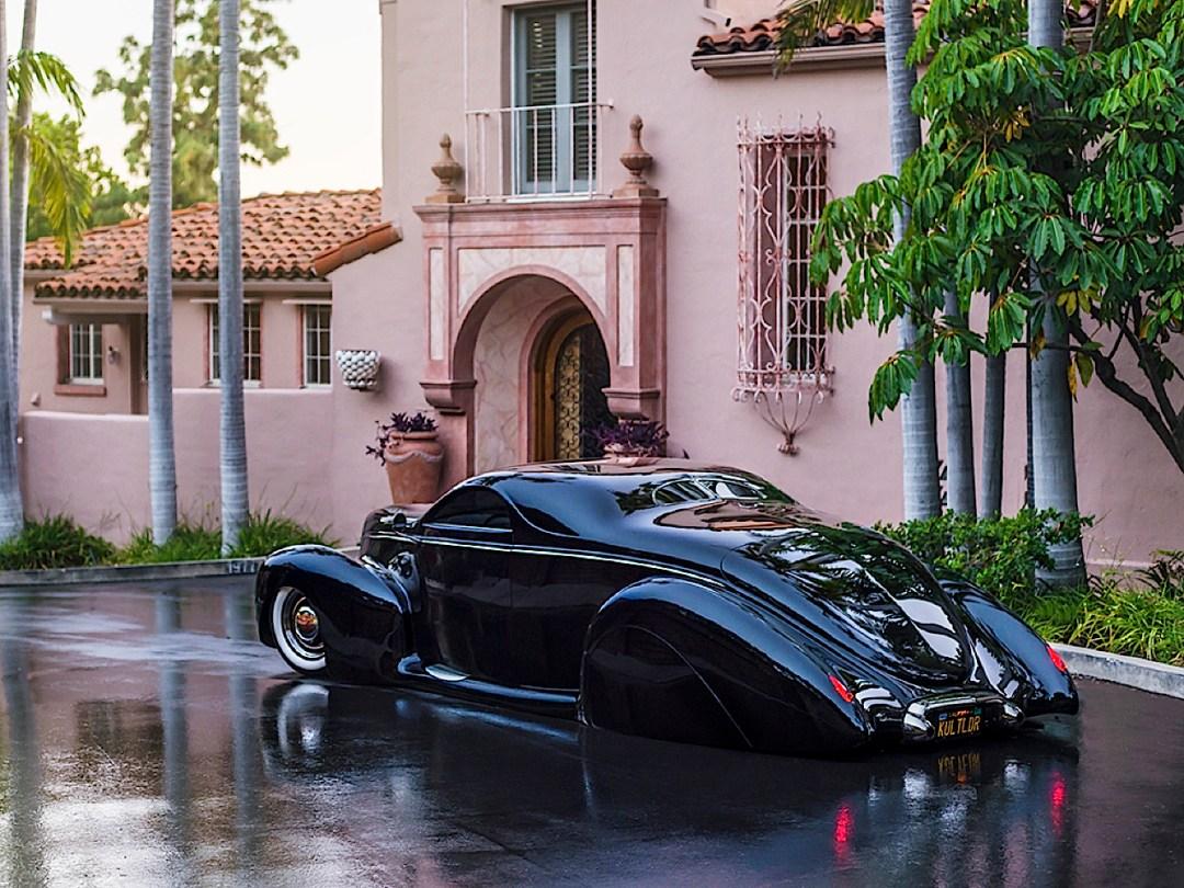 """'39 Lincoln Zephyr """"Scrape"""" - Même le custom a ses légendes ! 72"""