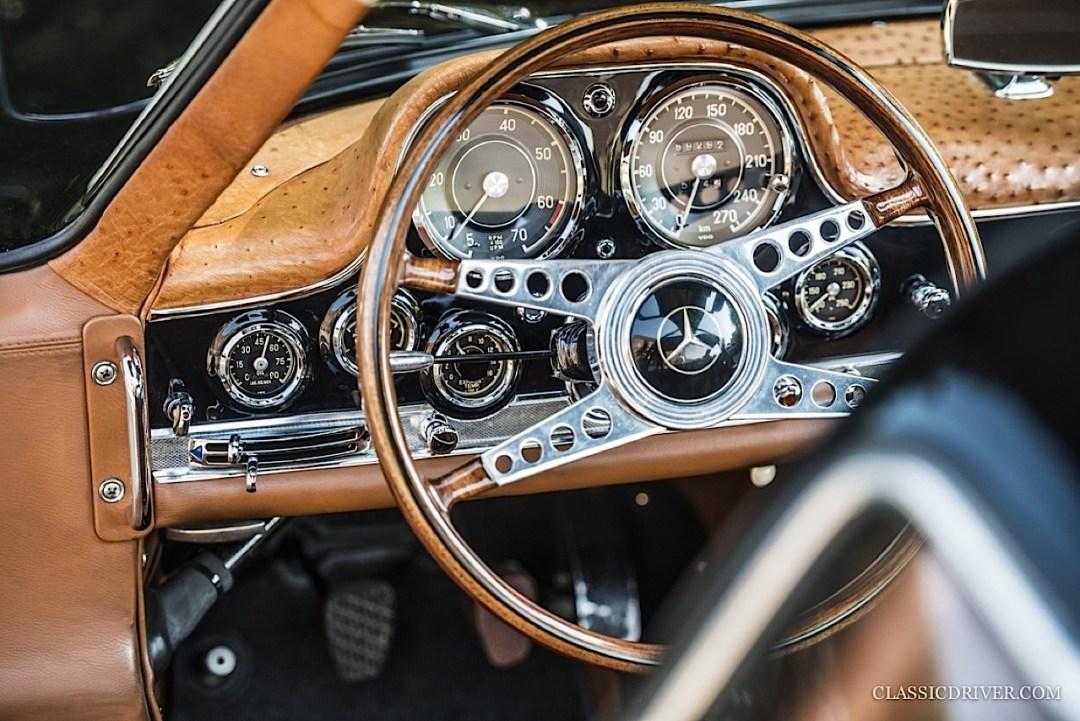 Mercedes 300 SL outlaw... en top chop et side pipe ! 125