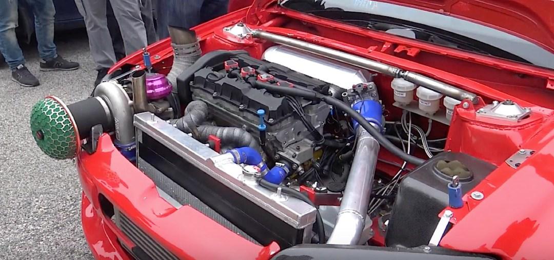 Peugeot 106 S16 Turbo Time Attack... Avec 500 ch sous l'capot ! 23