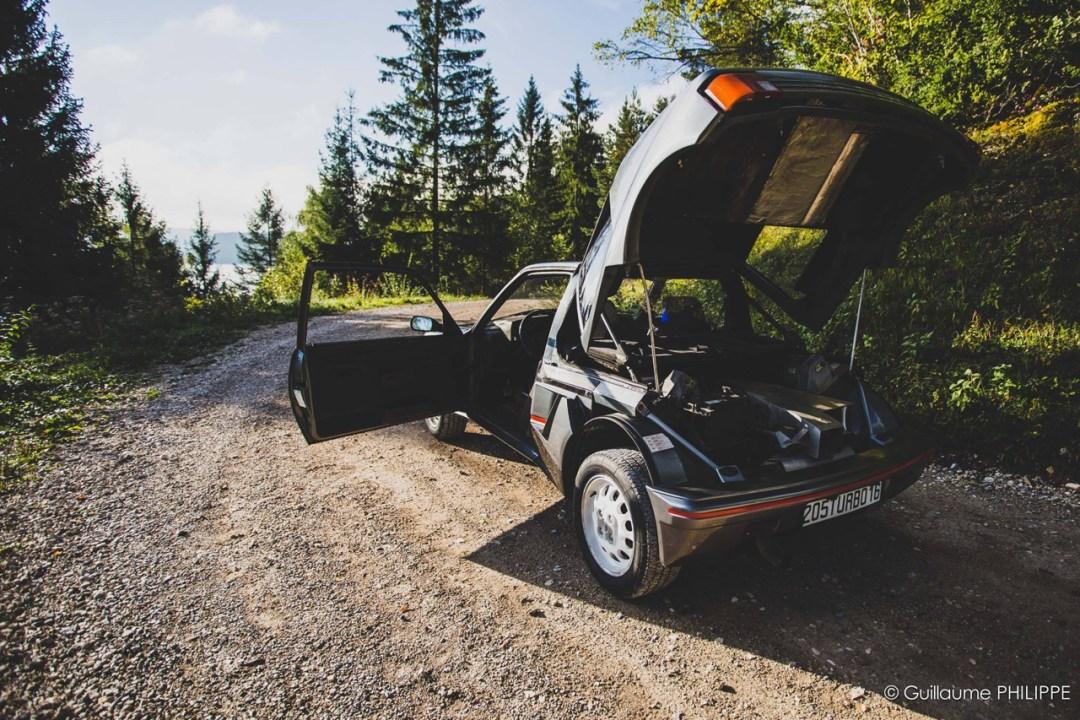 Peugeot 205 T16 - Le lion a bouffé de l'escargot ! 35