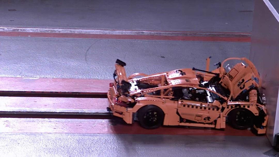 Porsche 991 Lego : Le crash test ! 16