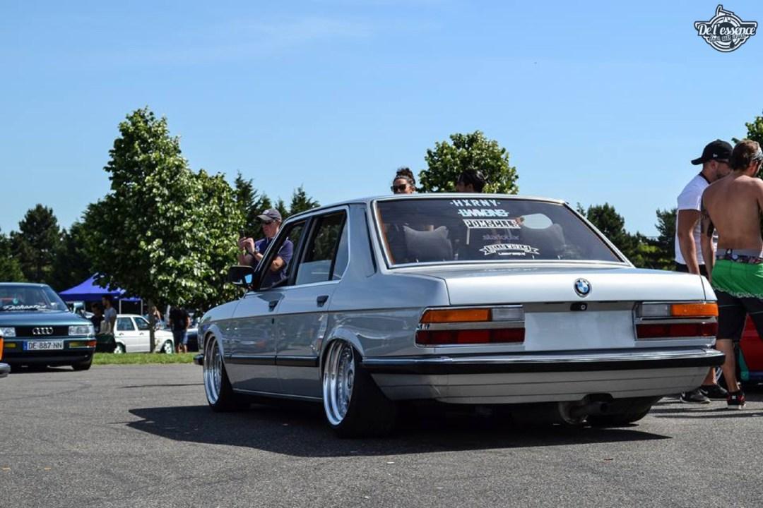 Bagged BMW E28 520i... Low & Flow ! 56