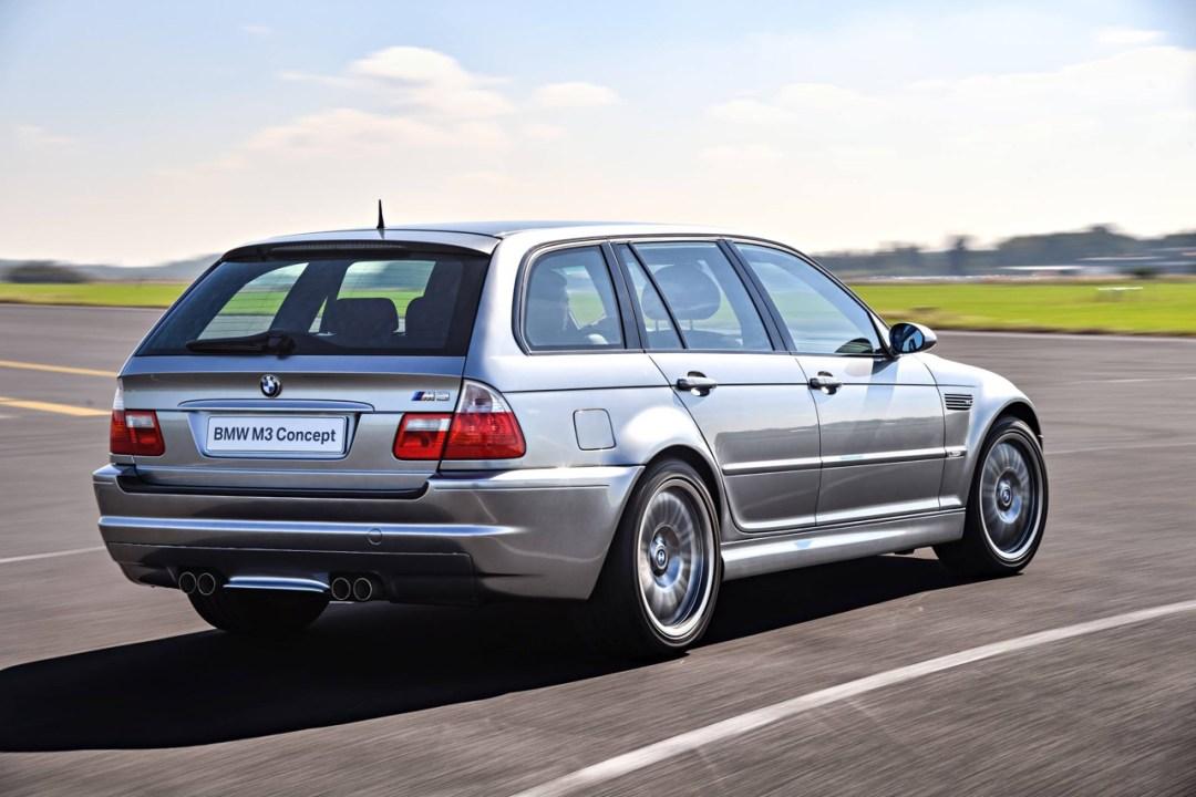 BMW M3 E46... touring ! Oui, elle existe... 25