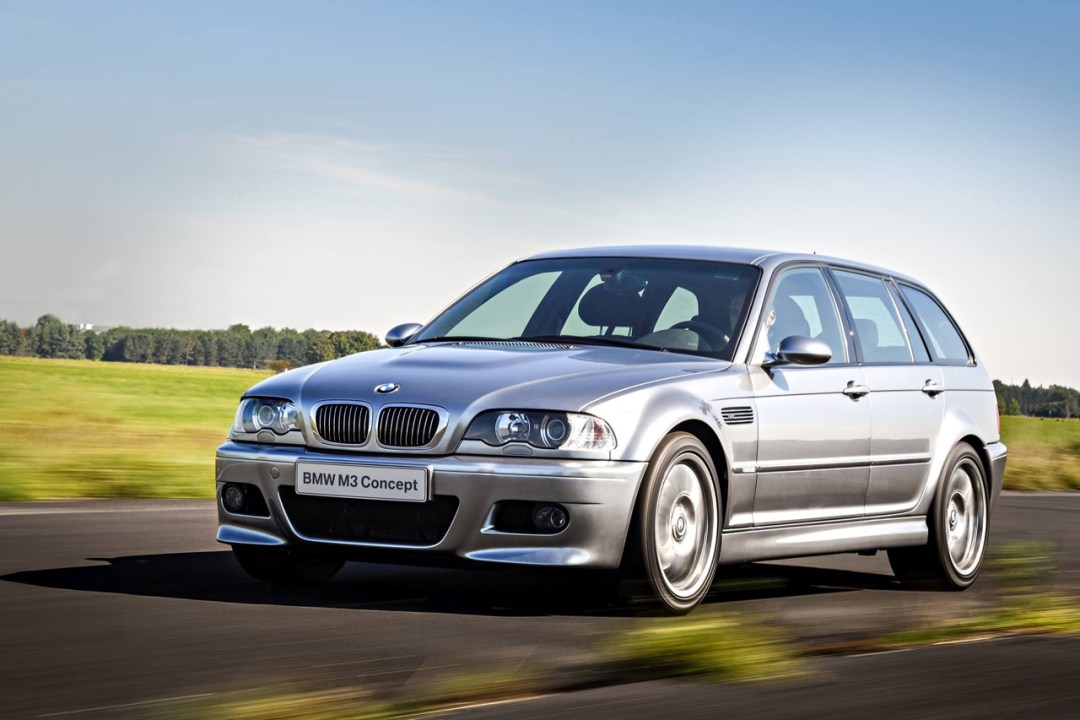 BMW M3 E46... touring ! Oui, elle existe... 33