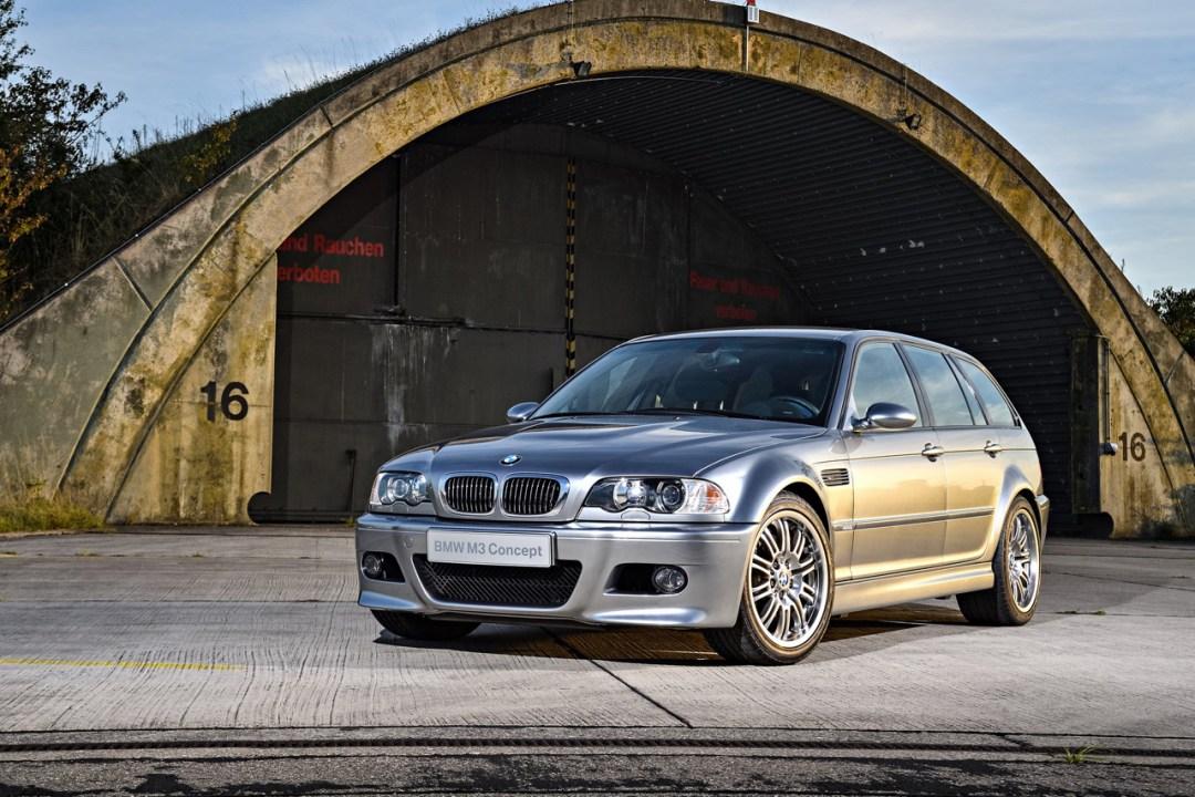 BMW M3 E46... touring ! Oui, elle existe... 30