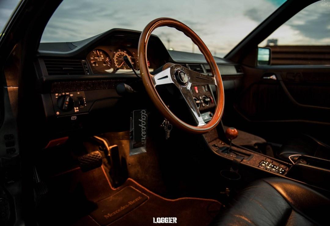 Coupé Mercos W124... Chaussé en Fuchs ! 21