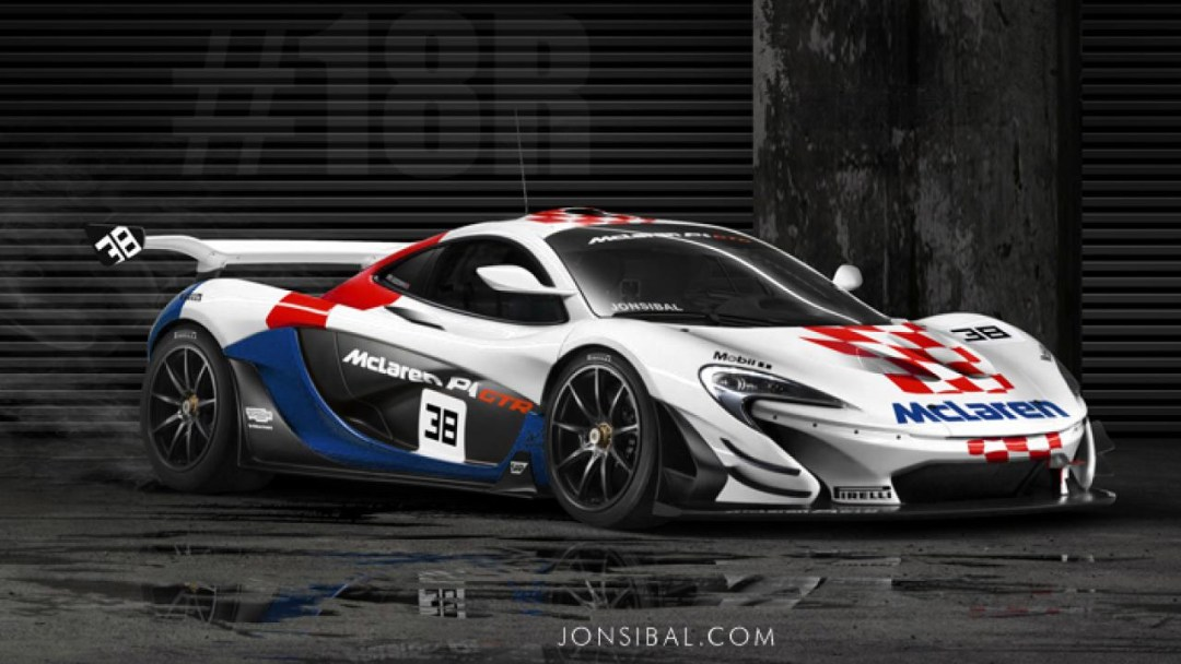McLaren P1 GTR et F1 GTR... Réunion de famille ! 24