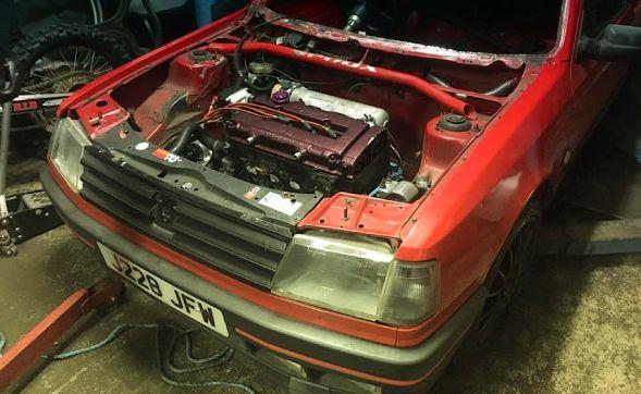 DLEDMV - Peugeot 309 Vtec Turbo pugonda - 010