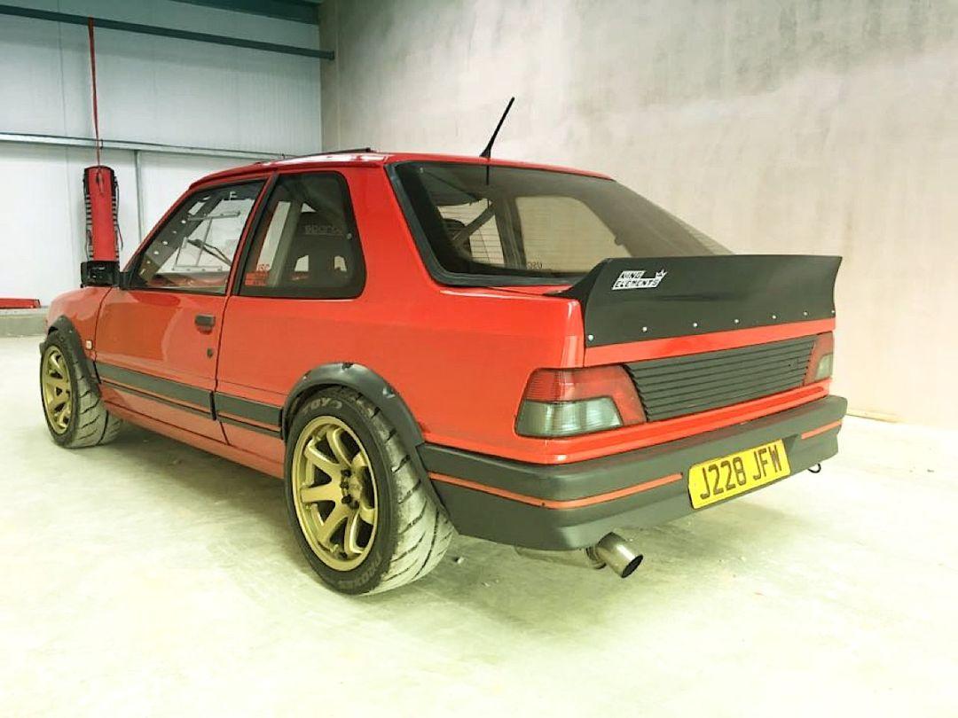 """""""Project Pugonda"""" : La Peugeot 309 Vtec turbo... 26"""