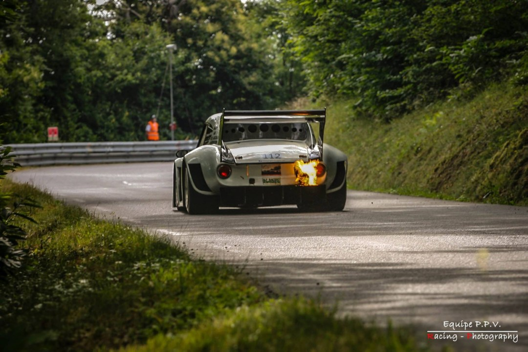 Hillclimb Monster : Simca CG 1200 S... Light is right avec un turbo ! 25