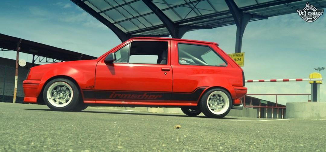 Opel Corsa GSi : Alain et sa fraise Tagada ! 78