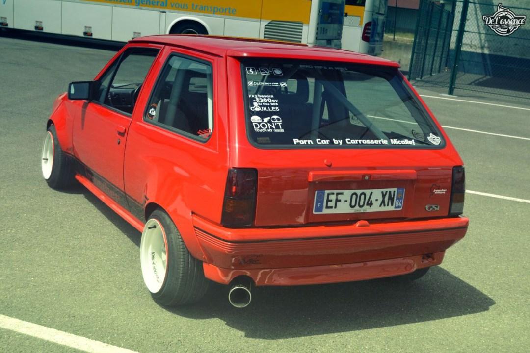 Opel Corsa GSi : Alain et sa fraise Tagada ! 73