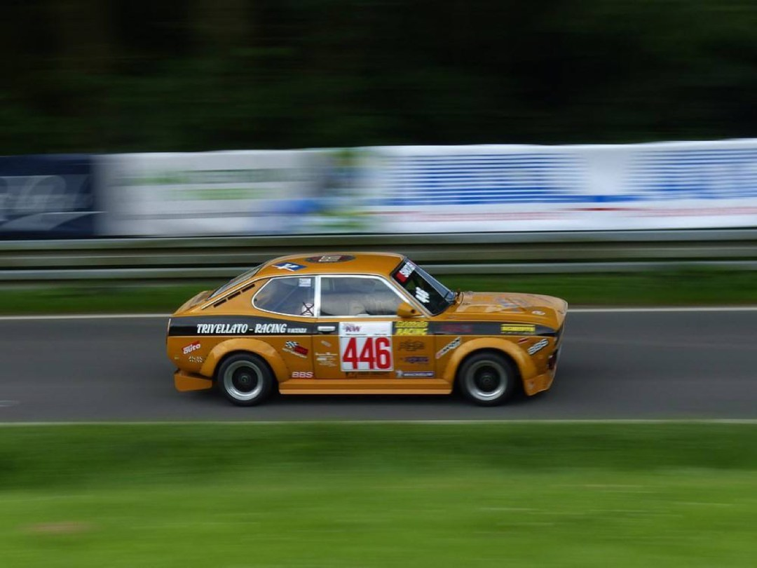 Hillclimb Monster : Fiat 128 coupé 8v - Pétard à mèche courte ! 5