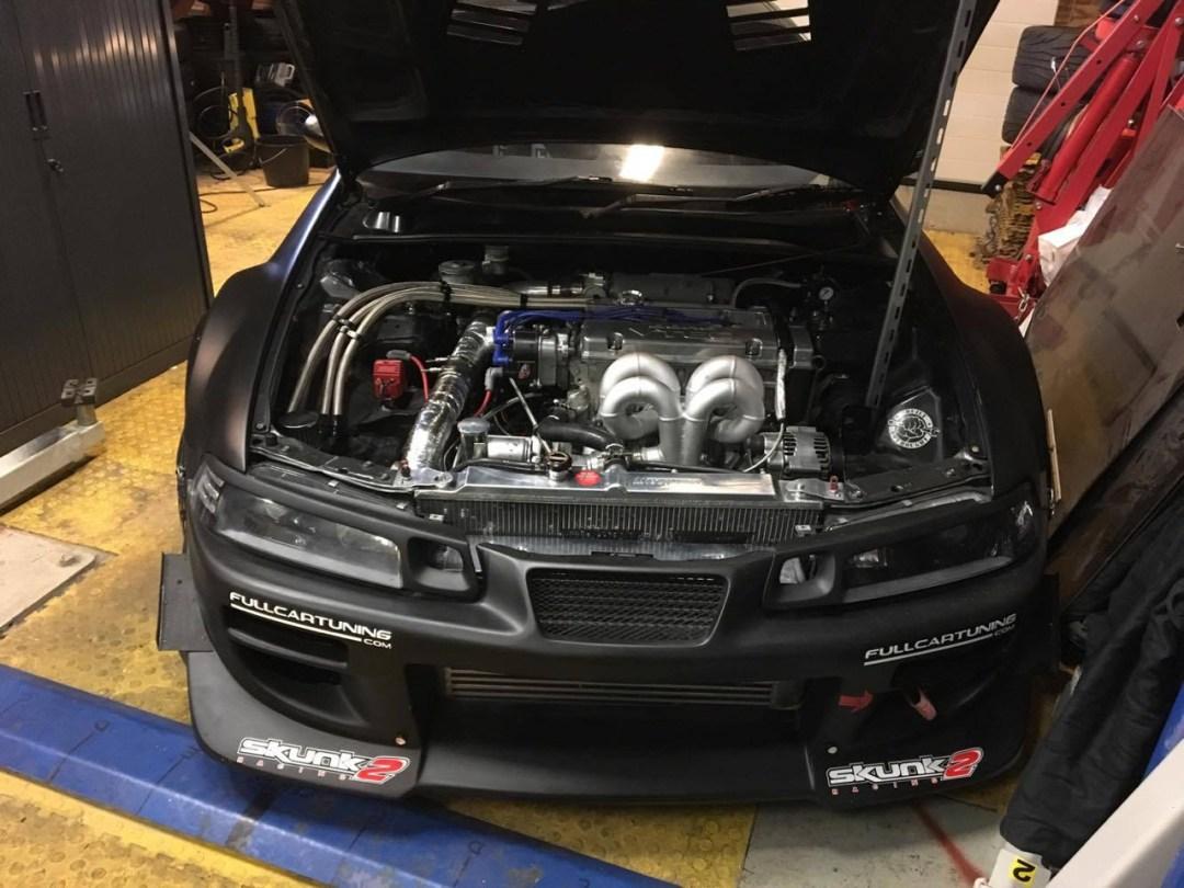 H22 Turbo pour 550 ch dans une Honda Prelude ! 9
