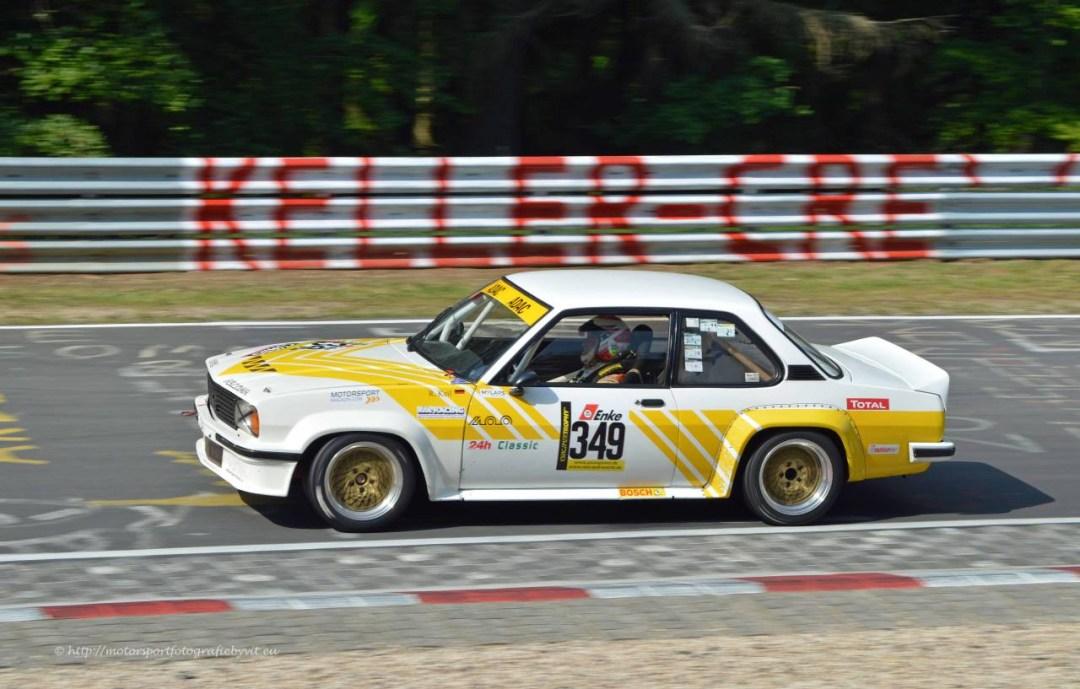 Youngtimer Trophy : Opel Ascona 400 en bagarre sur la Nordschleife 16