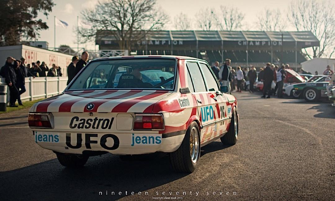 Engine Sound : Nick Padmore's BMW 530i - Tempête à Goodwood ! 9