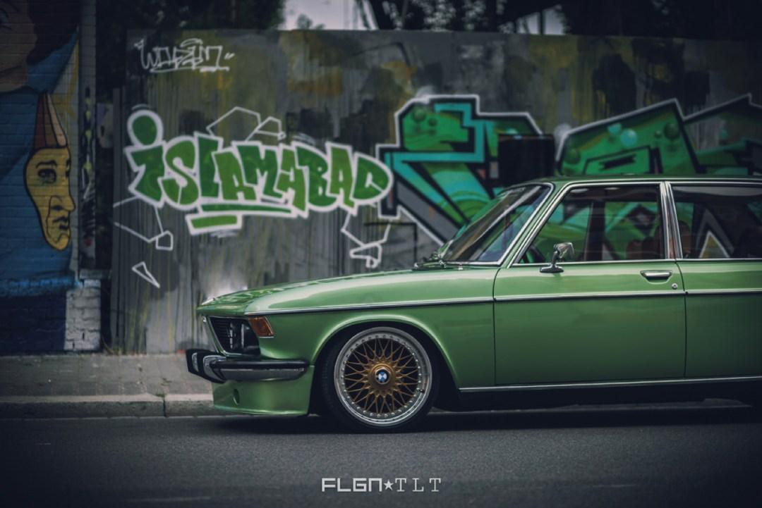 Slammed BMW E3 Bavaria - Allez, on se met un peu au vert ! 19